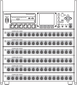 WX-7096: 96 input and output channels.